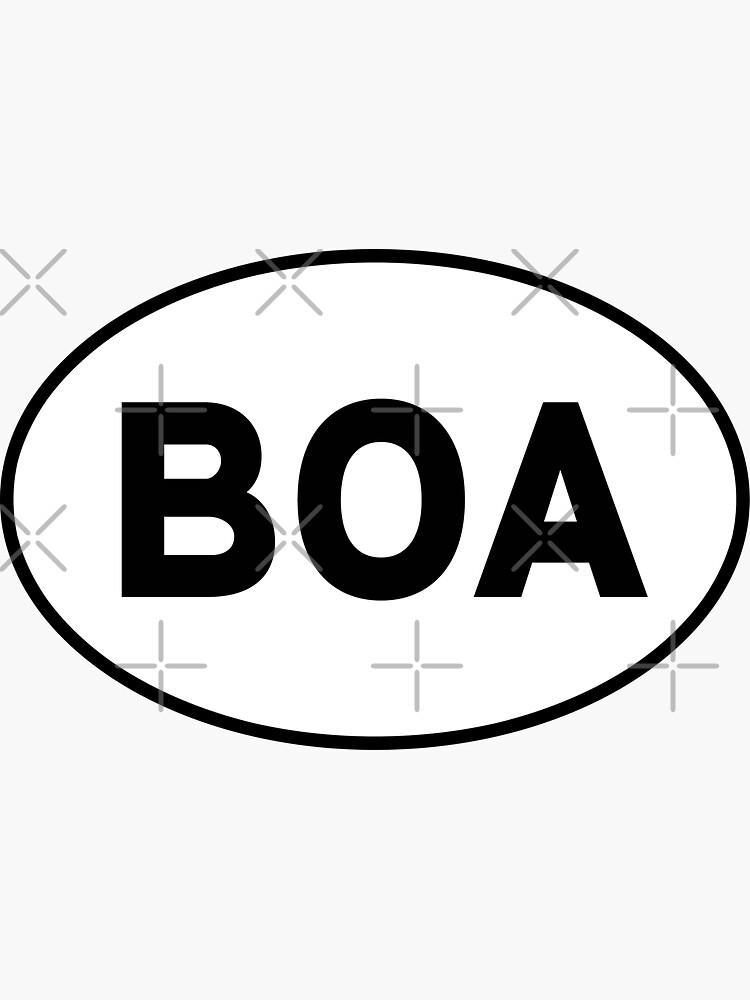 Oval BOA by doira