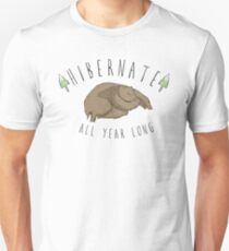 Hibernate All Year Long Slim Fit T-Shirt