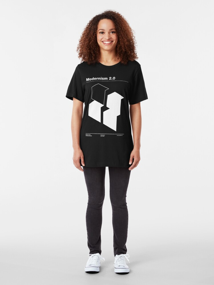 Alternate view of Modernism 2.0 Slim Fit T-Shirt