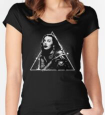 Witch House • Casting Call Women's Fitted Scoop T-Shirt