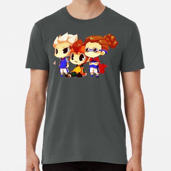 chibi inazuma eleven Camiseta premium