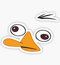 Perry the Platypus Face ! [UltraHD] Sticker