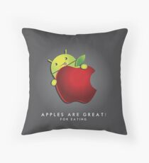 Android Ultimate [UltraHD] Throw Pillow