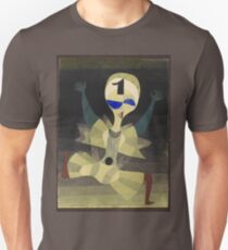 Paul Klee - Runner At The Goal. Abstract painting: abstract art, geometric, Runner , composition, lines, forms, creative fusion, spot, shape, illusion, fantasy future T-Shirt