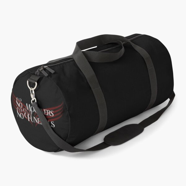 No Mourners No Funerals Duffle Bag