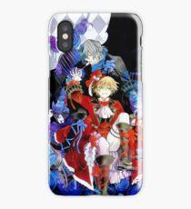 Red & blue shades (Pandora Hearts) iPhone Case/Skin