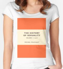 The History of Sexuality Women's Fitted Scoop T-Shirt