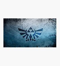 Zelda Triforce Photographic Print