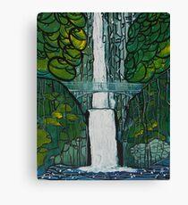 Multnomah Falls Painting Leinwanddruck