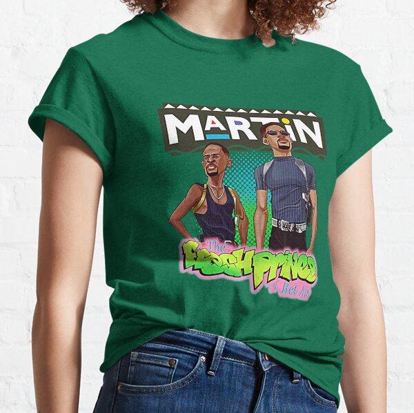Martin and Fresh Prince Of Bel air T-Shirt Classic T-Shirt