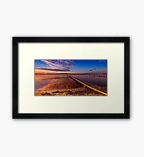 Manning Point 666 Framed Print