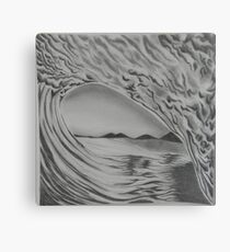 Inside Wave Canvas Print