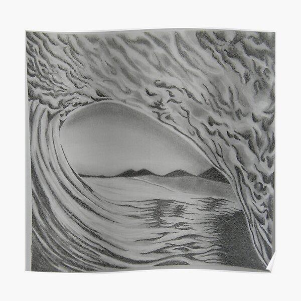 Inside Wave Poster