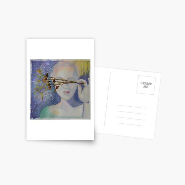 Dreamy Woman Postcard