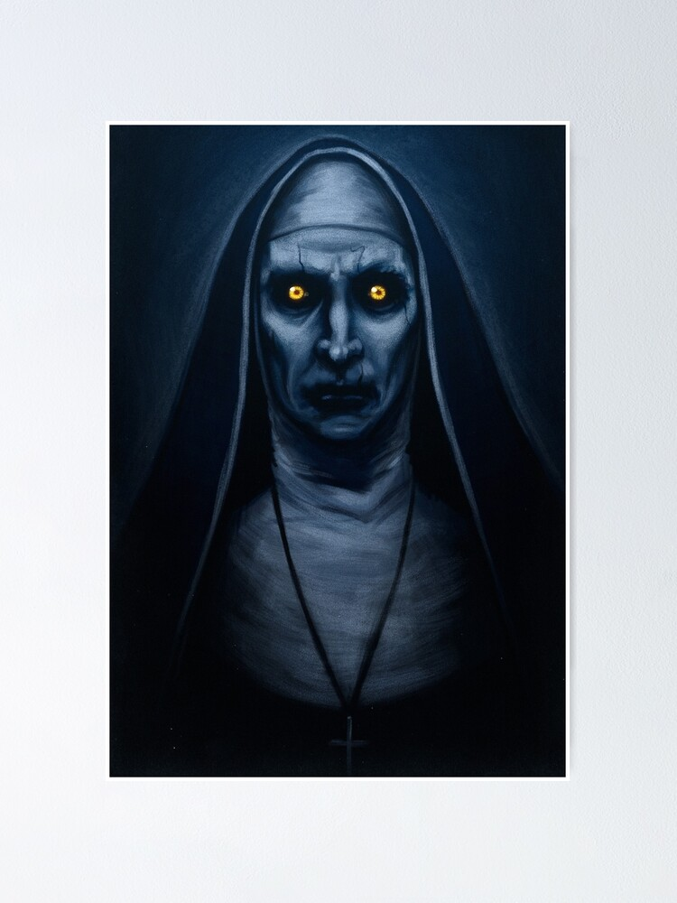 Alternate view of Valak Painting Poster