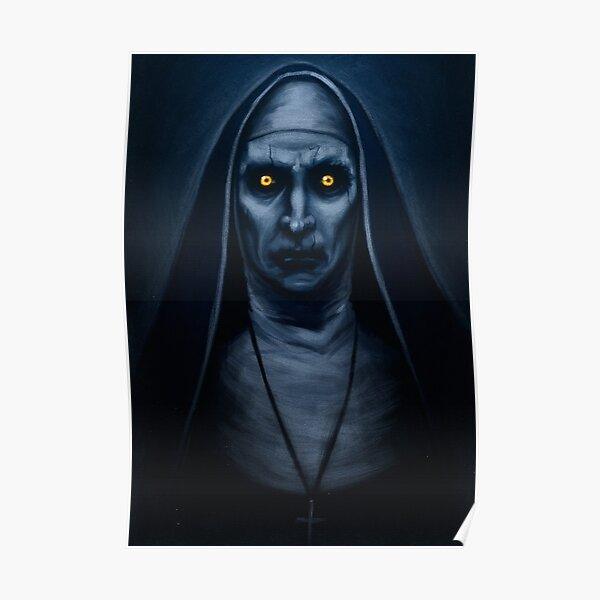 Valak Painting Poster