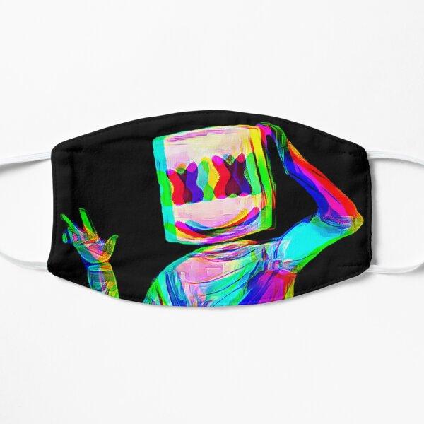 Marshmello glitch  Flat Mask