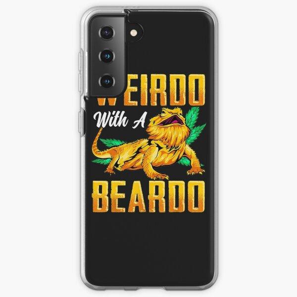 Weirdo With A Beardo Bearded Dragon Beardie Lover Samsung Galaxy Soft Case