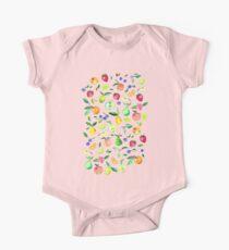 Fresh Fruit - a watercolor pattern Kids Clothes