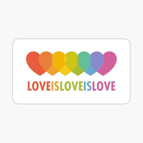 Love Is Love (Alternative) Sticker