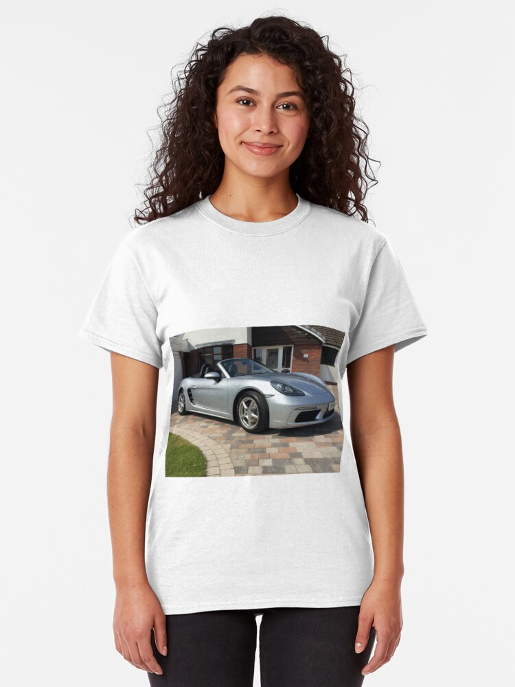 Alternate view of 718 Porsche Boxster, front view. Classic T-Shirt