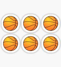 Basketballs Sticker
