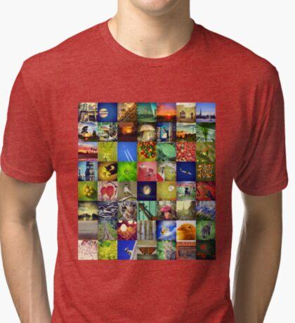 BlackHalt`s Instagram Photos Tri-blend T-Shirt
