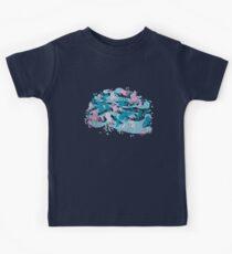 octopus party Kids T-Shirt