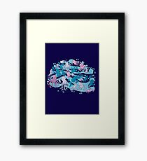 octopus party Framed Print