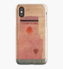 Paul Klee - Arabian Song. Abstract painting: abstract art, geometric, Arabian ,  Song, lines, forms, creative fusion, spot, shape, illusion, fantasy future iPhone Case/Skin