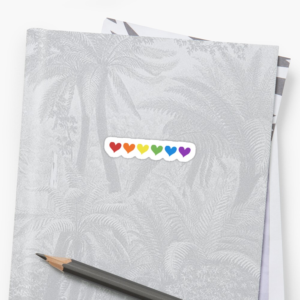 Pride Rainbow Hearts by digitalbulldog