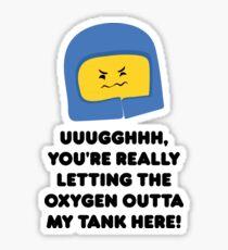 Lego Movie - Benny Quote Sticker