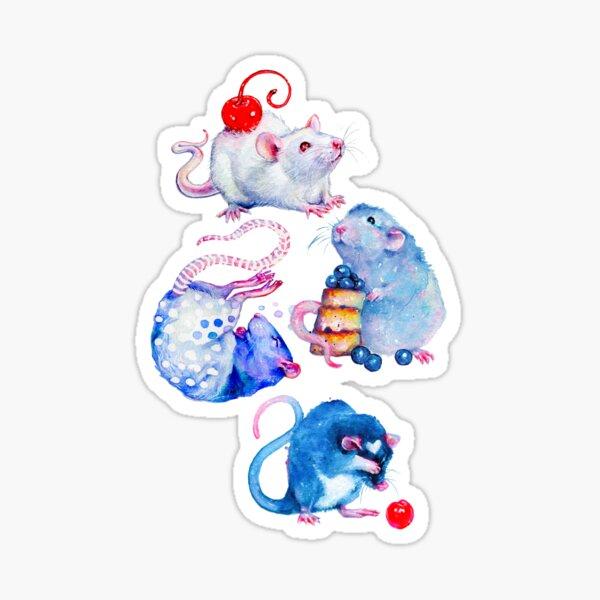 Sweet Rats Sticker