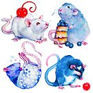 Sweet Rats by tanyashatseva