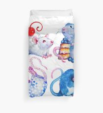 Sweet Rats Duvet Cover