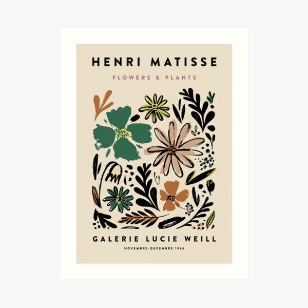 Matisse Flowers Art Print