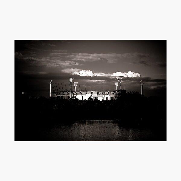 MCG in the Spotlight Photographic Print