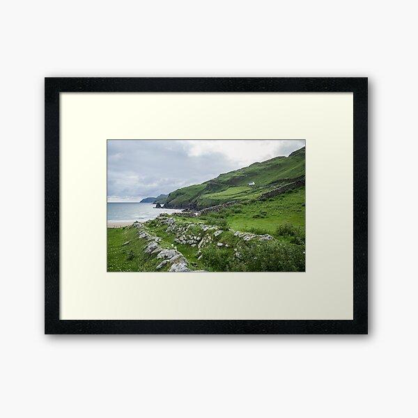 Muckross Coast, Kilcar, Co. Donegal Framed Art Print
