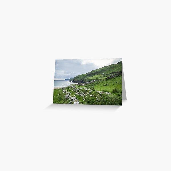 Muckross Coast, Kilcar, Co. Donegal Greeting Card