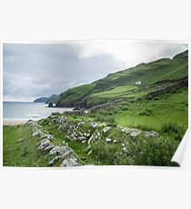 Muckross Coast, Kilcar, Co. Donegal Poster