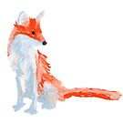 Cute Fox by DominicWhiteArt