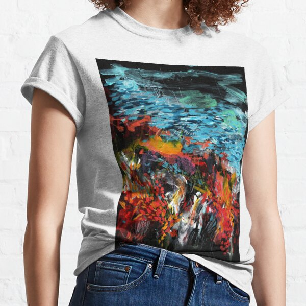 Contemporary_Coral reef _Part 1 Classic T-Shirt