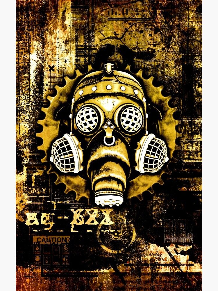 Steampunk / Cyberpunk Gas Mask by SC001