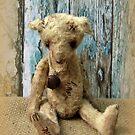 Handmade bears from Teddy Bear Orphans - Tatty Bear by Penny Bonser
