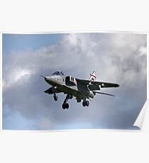 Royal Air Force Sepecat Jaguar GR. MK3 Poster