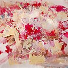 Rita-T, Abstract Painting 4b, Pink, Cream, White by VoxOrpheus