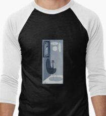 Gato Gray Men's Baseball ¾ T-Shirt