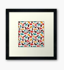 Animal Pattern Framed Print
