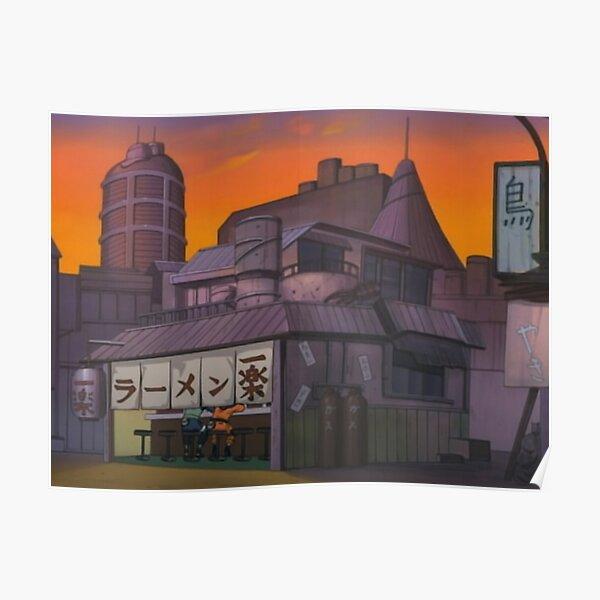 Ramen Ichiraku Storefood Poster