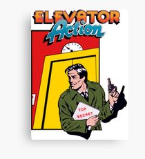 ELEVATOR ACTION TAITO ARCADE Canvas Print